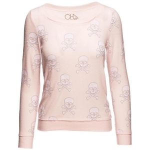 Chaser Skull and Crossbones Sweater Top